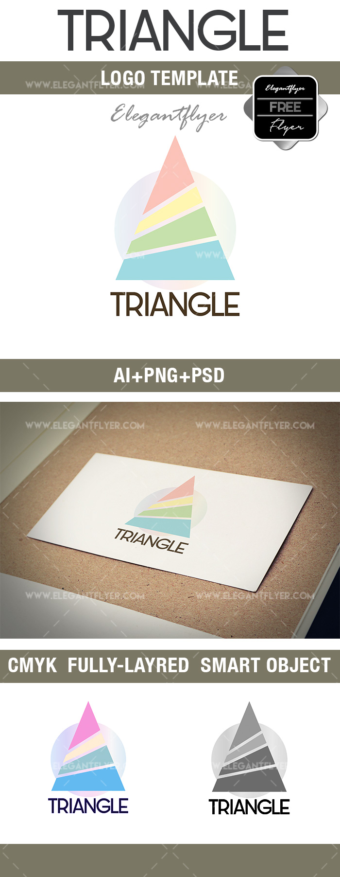 Triangle – Free Logo Template