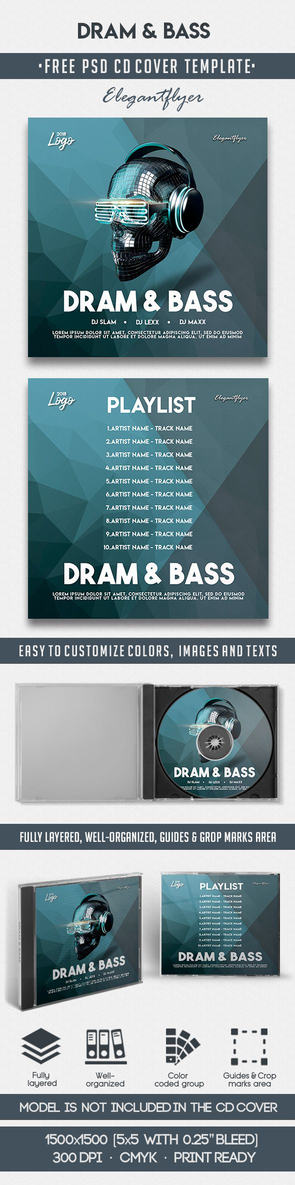 Dram And Bass Cd Cover