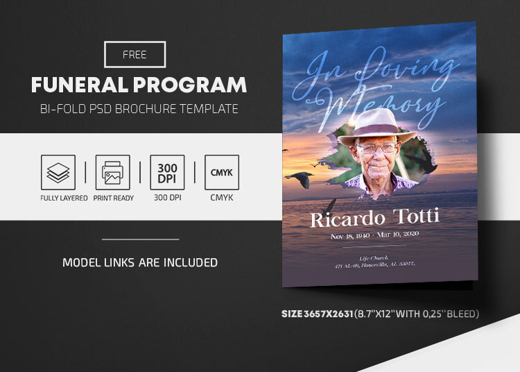 25+ Free Print-Ready Funeral Program and Memorial Service Templates & Premium Version!