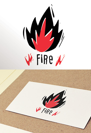 Fire – Free Logo Template