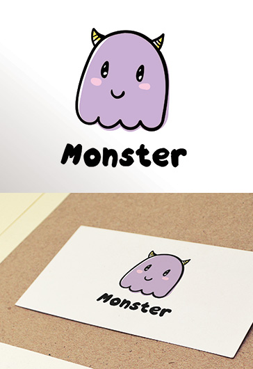 Monster – Premium Logo Template