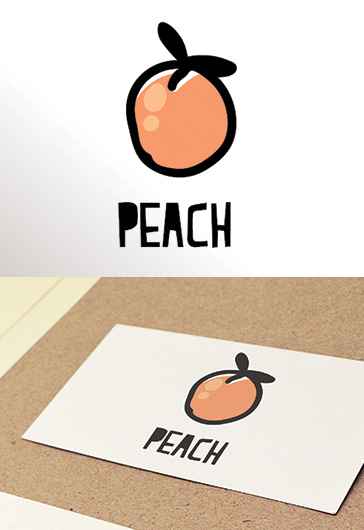 Peach – Free Logo Template