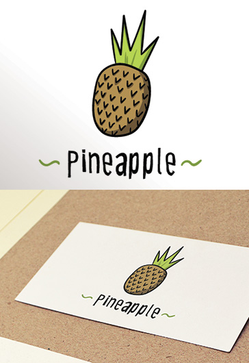 Pineapple – Premium Logo Template