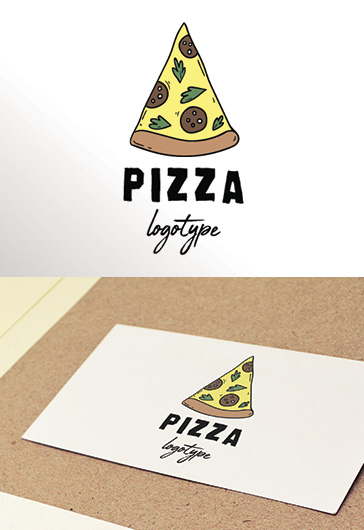 Pizza – Premium Logo Template