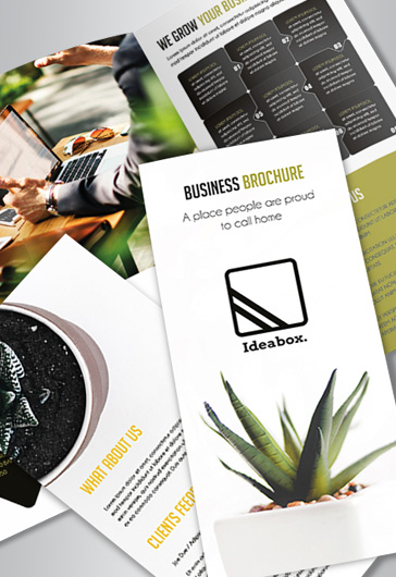 Corporate Goals – Free PSD Flyer Template + Facebook Cover + Instagram Post
