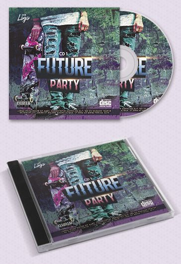 Future Bass Cd Template