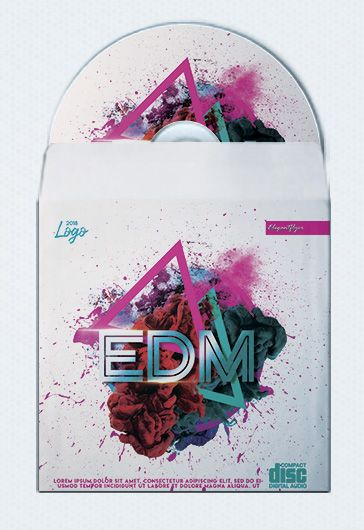 EDM Party Cd Cover