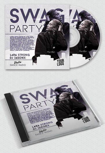 Swag Party Cd Cover in PSD