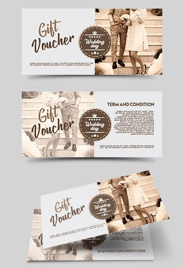 Gift Voucher Wedding Day