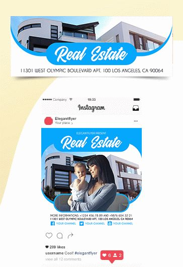 Real Estate – Free Tri-Fold PSD Brochure Template