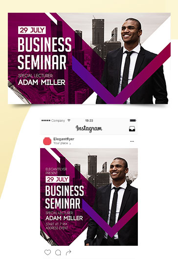 Business Seminar – Free Facebook Event Page