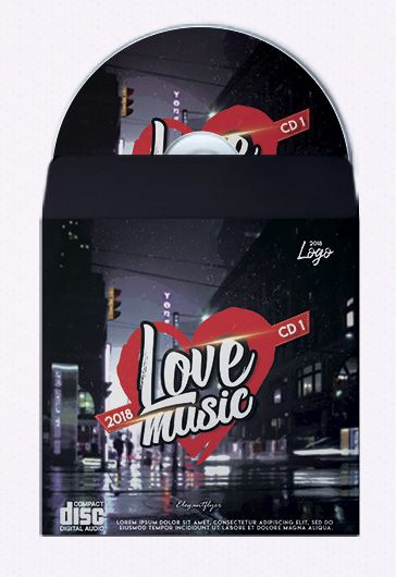 Soul Dance – Premium CD Cover PSD Template