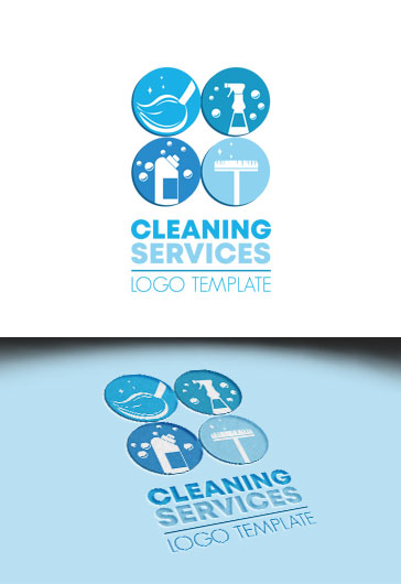 Cleaning Services – Premium Logo Template