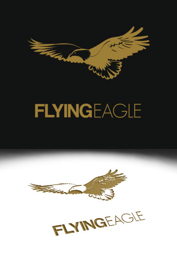 Flying Eagle – Free Logo Template