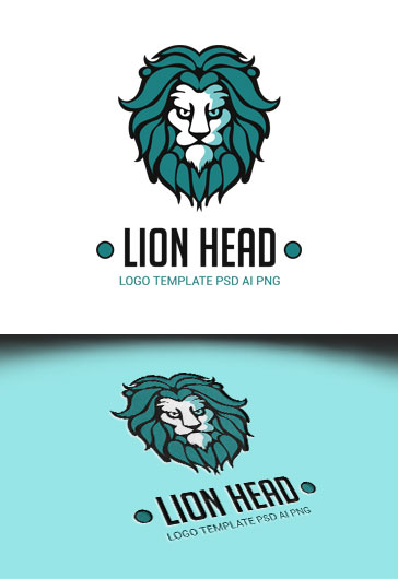 Lion Head – Premium Logo Template