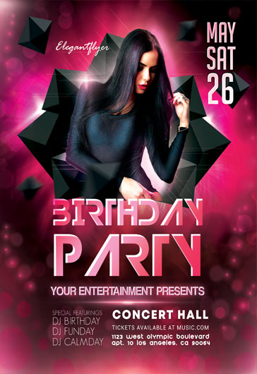 Cocktail Party – Flyer PSD Template