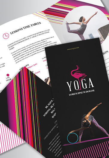 Power Gym – Free Business Card Templates PSD