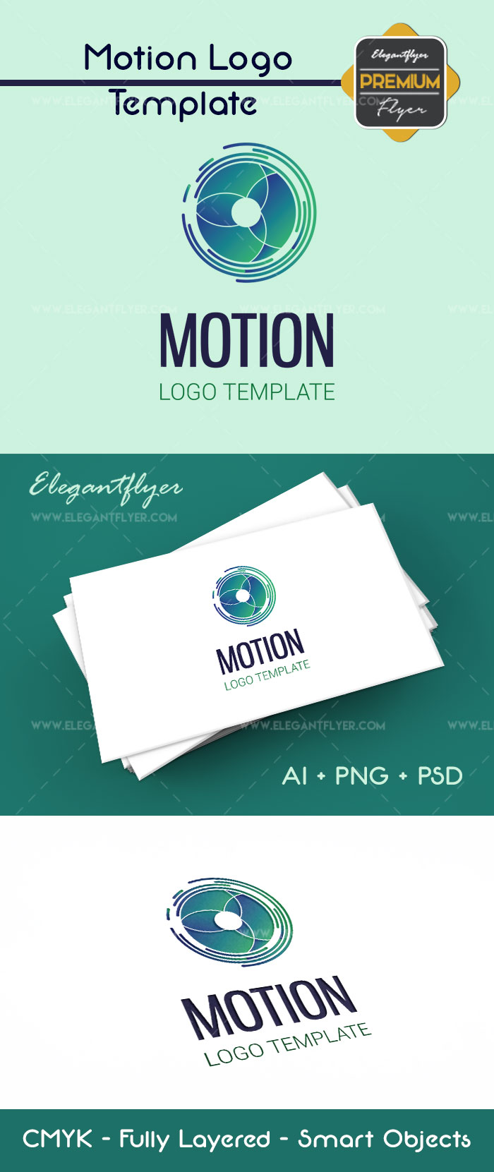 Motion Premium Logo Template By Elegantflyer