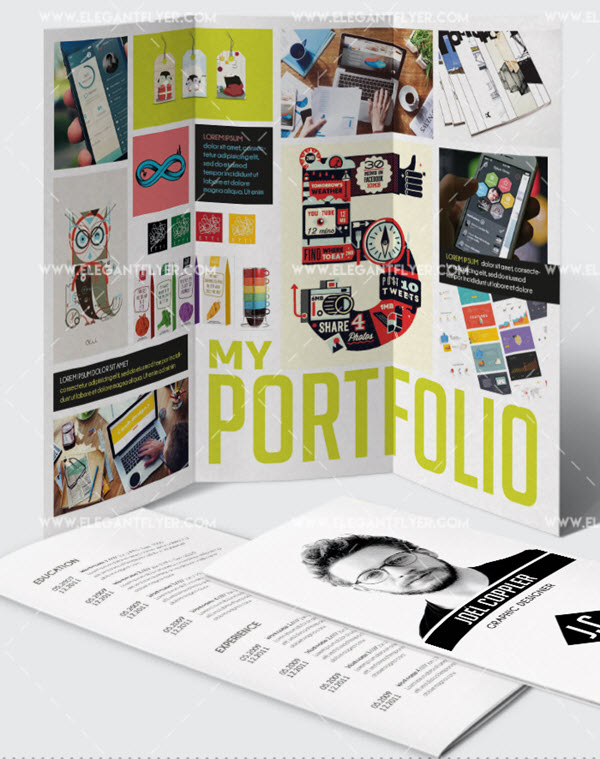 20 Creative Portfolio & Resume Free and Premium PSD Templates to Showcase Your Work