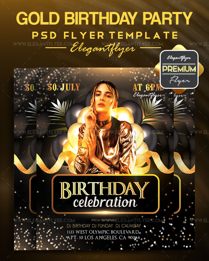May 2018: 20 Fresh PSD Free & Premium Party Flyers Templates!