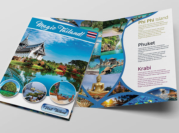 top 20 free vacation travel brochure templates in psd by