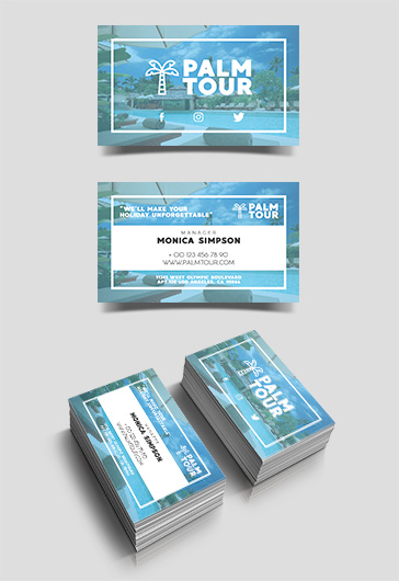 Travel and Tourism Tri-Fold Brochure Template