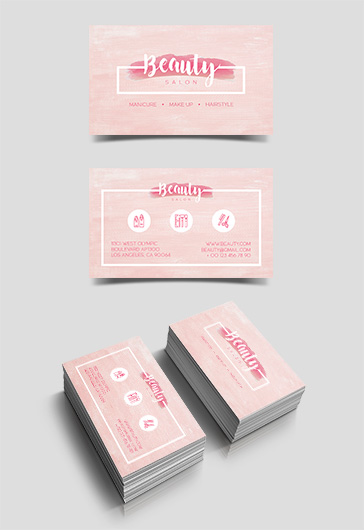 Beauty Salon – Free Business Card