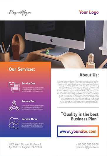 Free Psd Business Flyer Templates By Elegantflyer