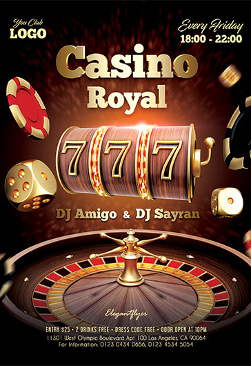 Casino Royal – Flyer PSD Template