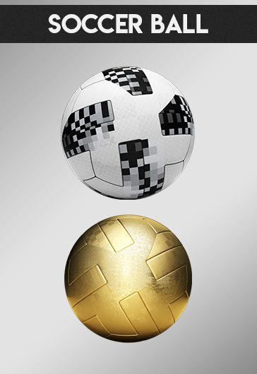 Football Set – Free 3d Render Templates