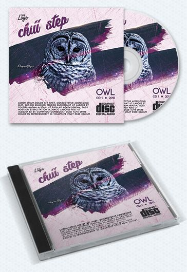 Chill Step Cd Template