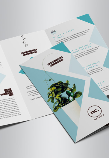 Corporate – Tri-Fold Brochure PSD Template