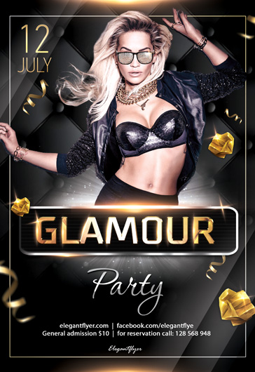 Club Night – Flyer PSD Template