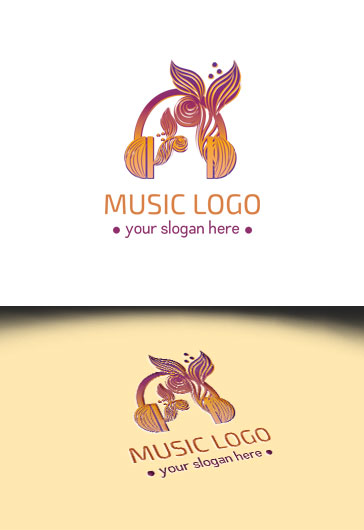 Music – Premium Logo Template