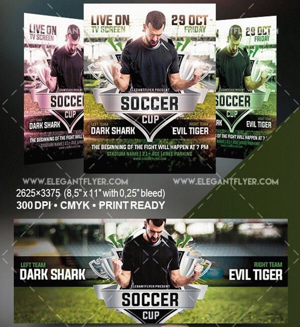 Best Flyer PSD Templates to Get Prepared for Sports Events 2018