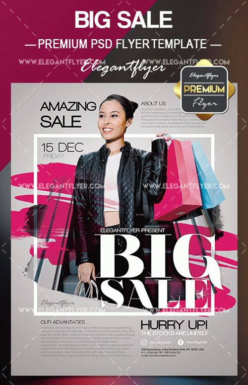 20 Free 038 Premium Fashion Flyer Templates In Psd For Business Promotion
