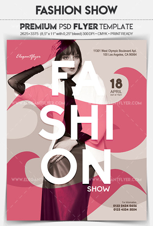 20 Free & Premium Fashion Flyer Templates in PSD | by ElegantFlyer