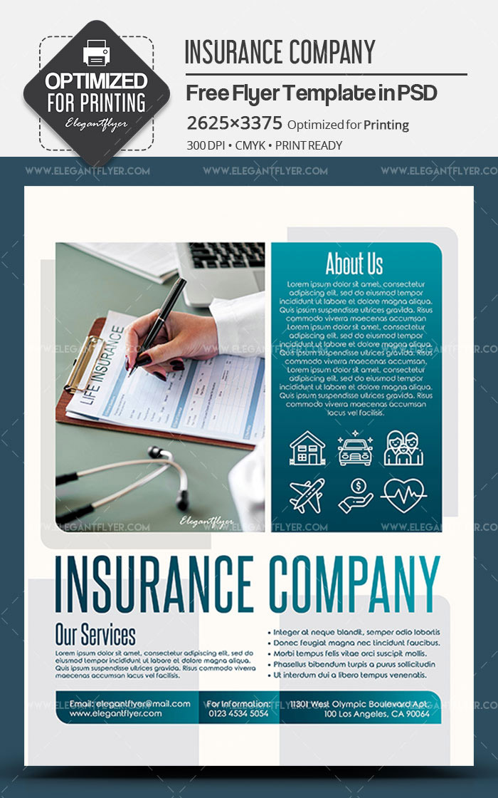 14+ Free Templates in PSD for Insurance Agency Promotion and Premium Version!