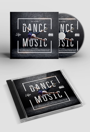 Dance Music Cd Cover
