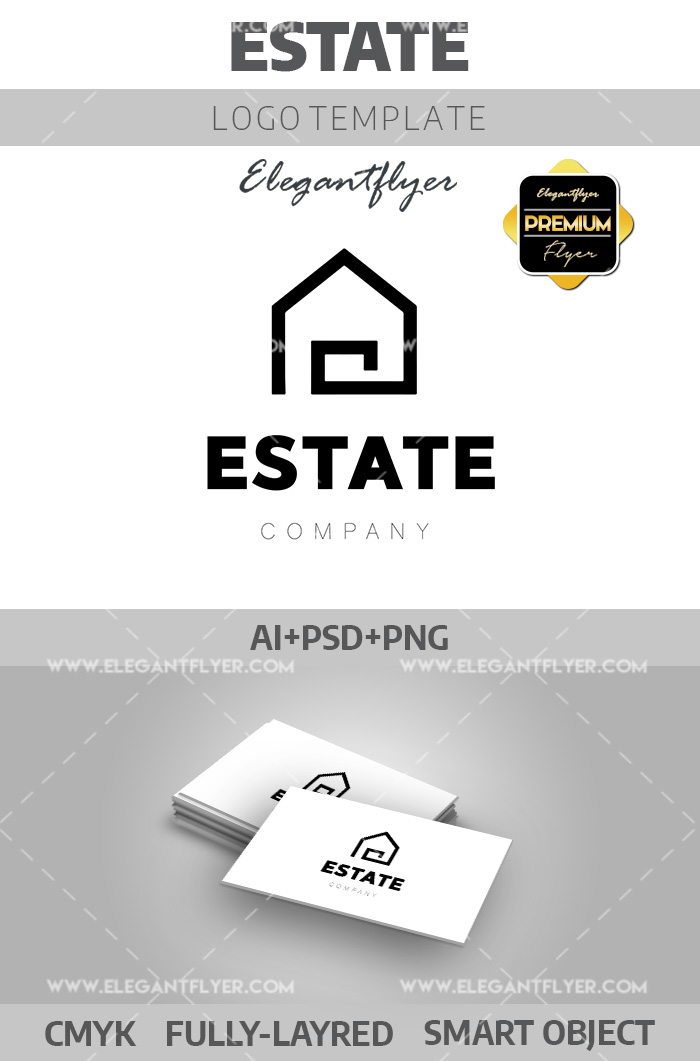 Estate – Premium Logotype Template