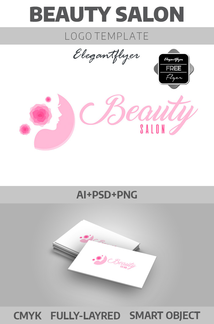 Beauty Salon – Free Logotype Template