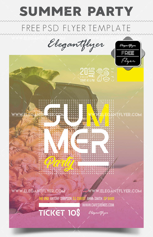 20+ Free & Premium Beach and Sea Themed Flyer PSD Templates