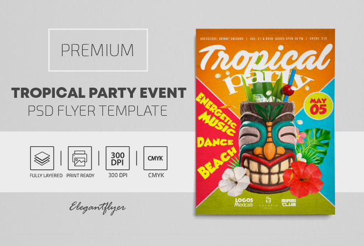 26+ Free & Premium Beach and Sea Themed Flyer PSD Templates!