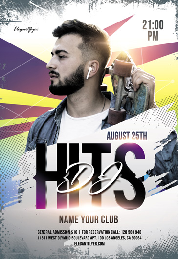 Club – Flyer PSD Template