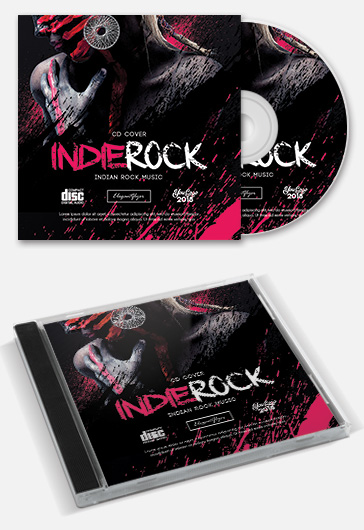 DJ Sound – Free CD Cover PSD Template