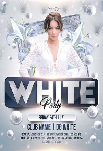 Elegant party – Flyer PSD Template
