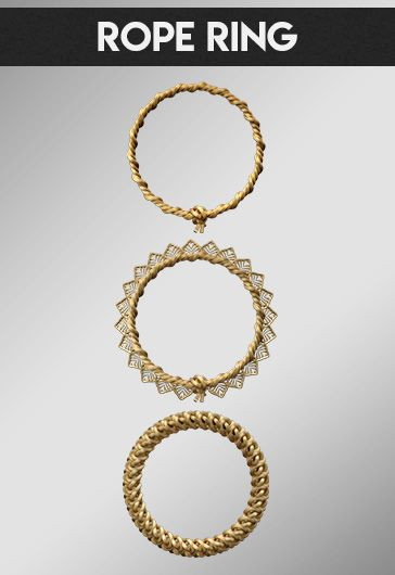 Rope Ring – Free 3d Render Templates