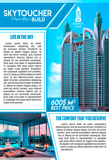 Sale of property – Flyer PSD Template