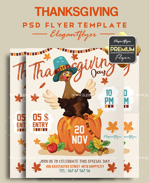 20 Premium & Free Columbus Day PSD Flyers + Templates for Other American Holidays
