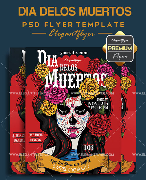 30 Premium and Free Flyers in PSD for Autumn Holidays 2018